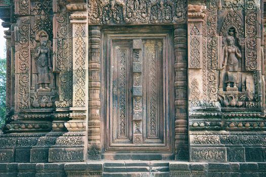 Cambodia (Angkor): Banteay Srei picture 5