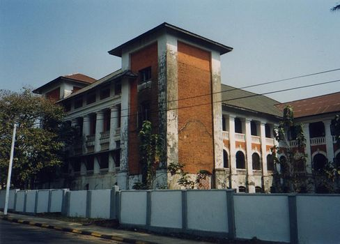 Burma / Myanmar: Moulmein  2:  Mosques, Churches, Schools picture 16