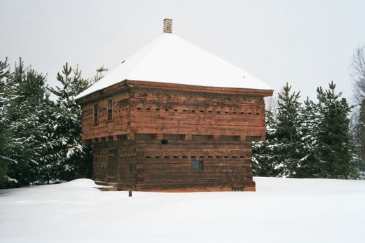 The Eastern United States: Fort Kent Winter picture 2
