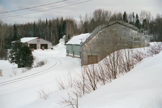 The Eastern United States: Fort Kent Winter picture 10