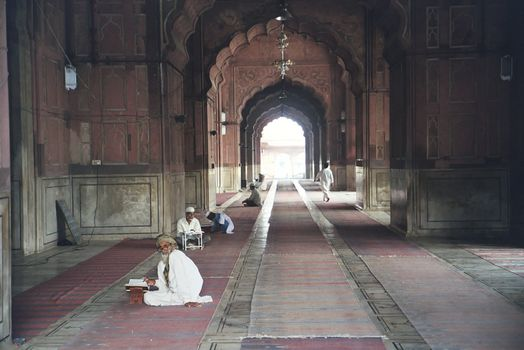 Northern India: Delhi's Jami Masjid picture 7