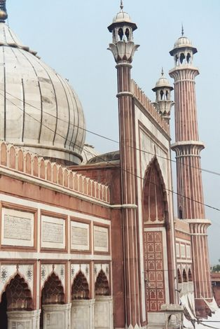 Northern India: Delhi's Jami Masjid picture 4