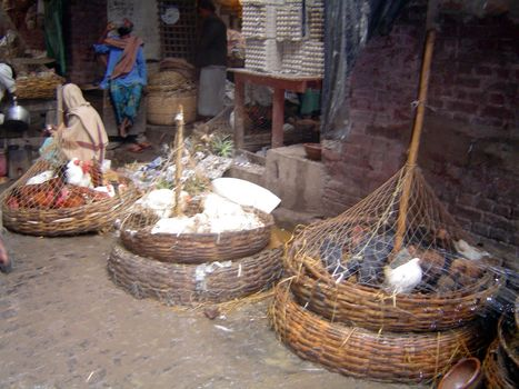 Northern India: Calcutta's New Market picture 2