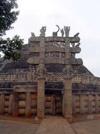 Peninsular India: Sanchi picture 4