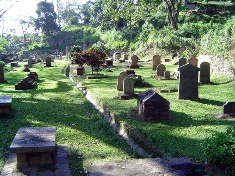Sri Lanka: Kandy: Christian Cemeteries picture 4