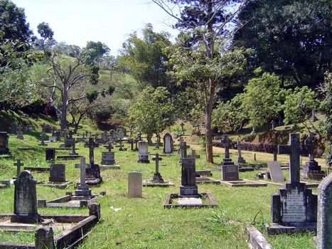 Sri Lanka: Kandy: Christian Cemeteries picture 17