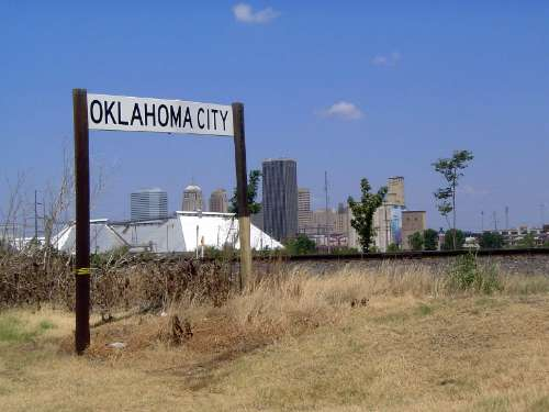 Oklahoma: Oklahoma City: Water, Rail, Road picture 42
