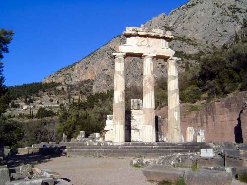 Greece: Delphi picture 18