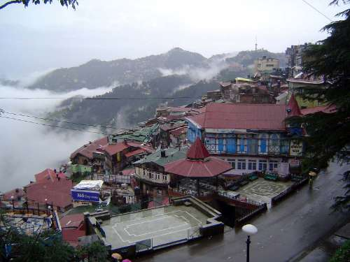 Northern India: Shimla: Approach and Mall picture 16