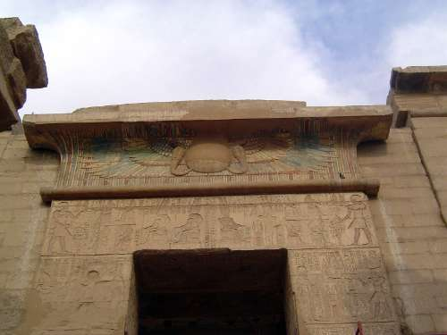 Egypt: Medinet Habu picture 12