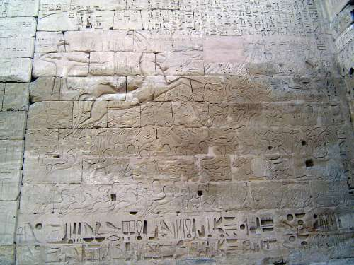 Egypt: Medinet Habu picture 23