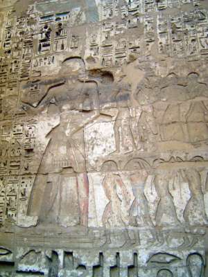 Egypt: Medinet Habu picture 21