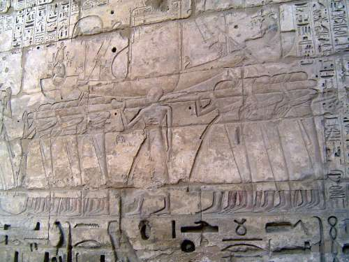 Egypt: Medinet Habu picture 34