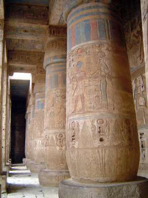 Egypt: Medinet Habu picture 40