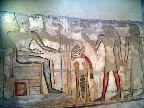 Egypt: Medinet Habu picture 43