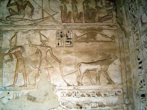 Egypt: Medinet Habu picture 45