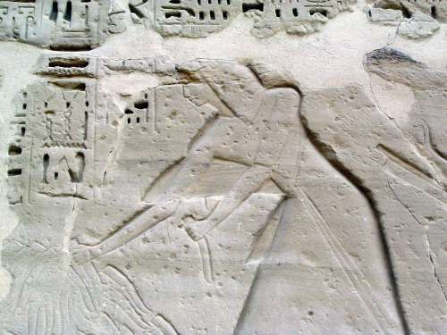 Egypt: Medinet Habu picture 28