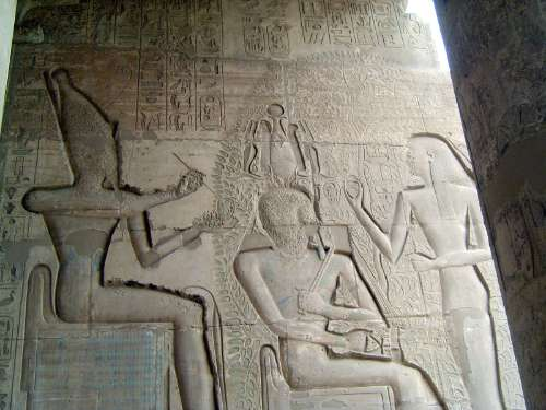Egypt: Ramesseum picture 14