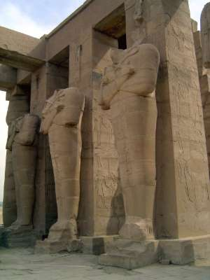 Egypt: Ramesseum picture 3