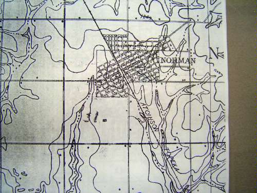 Oklahoma: Norman in maps picture 1