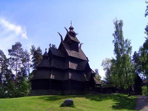 Norway: Oslo:  the Norwegian Folk Museum picture 12