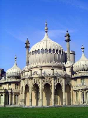 The United Kingdom: Brighton: the Royal Pavilion picture 6