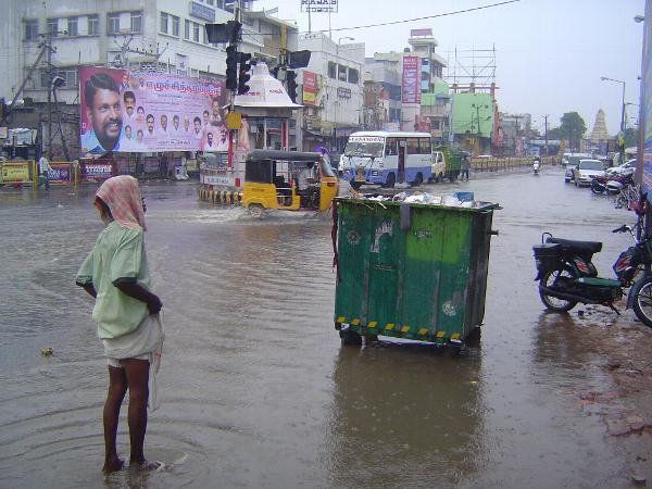 Peninsular India: Monsoon in Kanchipuram picture 1