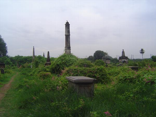 Peninsular India: Chennai/Madras 4: The Old English Burial Ground picture 2