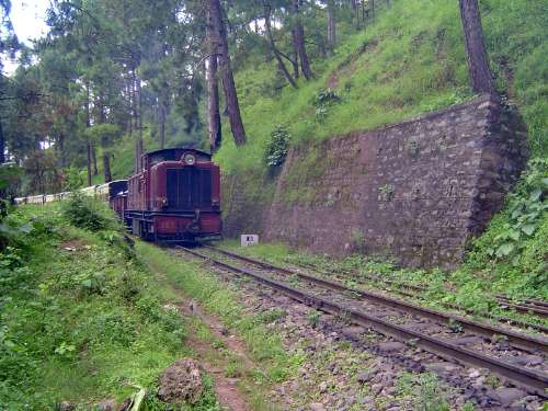 Northern India: Shimla Railway picture 2