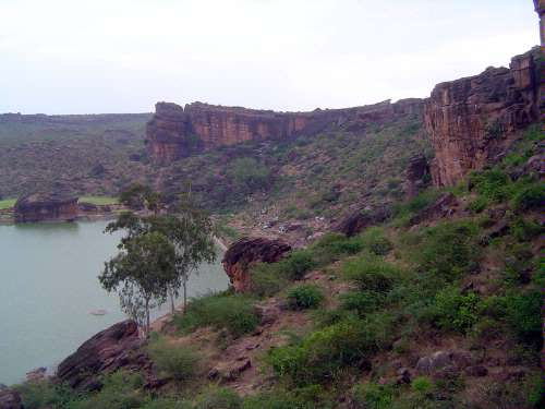 Peninsular India: Chalukya 1: Badami picture 13